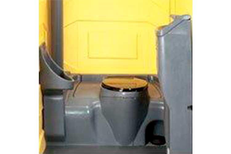 El sanitario portátil más resistente en el mercado con el espacio interior más grande
